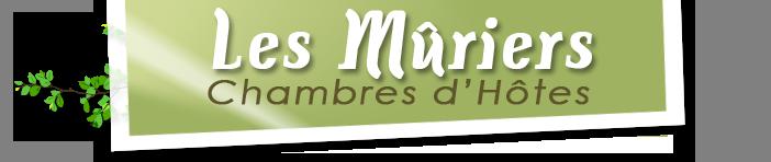 Chambres d'hôtes Les Mûriers Logo
